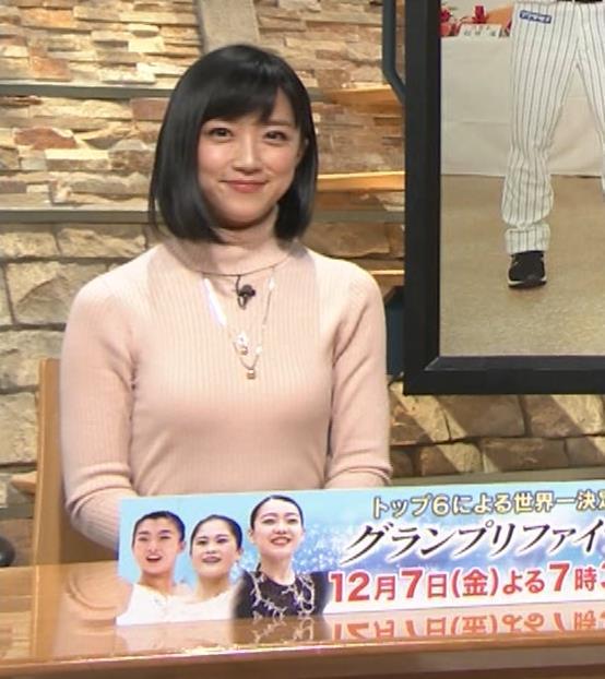 竹内由恵アナ 終始ニットおっぱいがエロかったよ!キャプ・エロ画像
