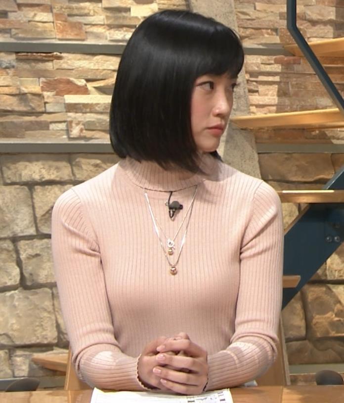 竹内由恵アナ 終始ニットおっぱいがエロかったよ!キャプ・エロ画像13