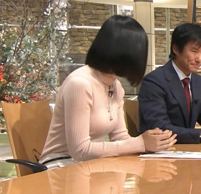 竹内由恵アナ 終始ニットおっぱいがエロかったよ!キャプ・エロ画像14