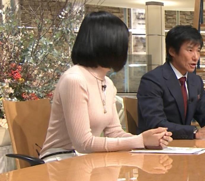 竹内由恵アナ 終始ニットおっぱいがエロかったよ!キャプ・エロ画像15
