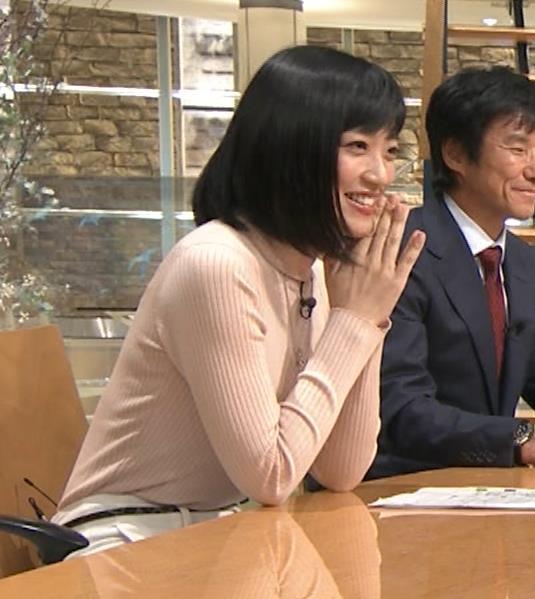 竹内由恵アナ 終始ニットおっぱいがエロかったよ!キャプ・エロ画像16