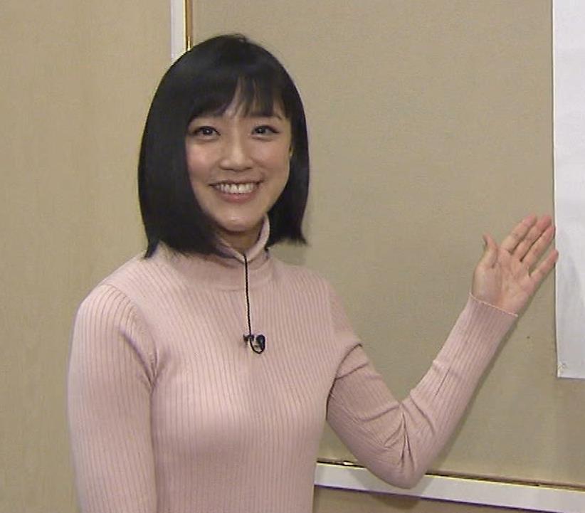 竹内由恵アナ 終始ニットおっぱいがエロかったよ!キャプ・エロ画像3