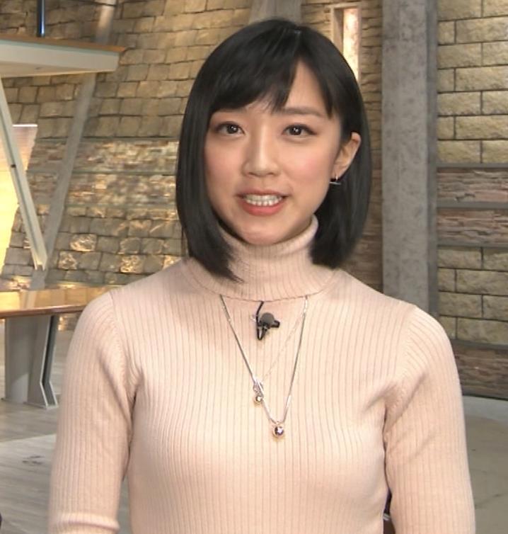 竹内由恵アナ 終始ニットおっぱいがエロかったよ!キャプ・エロ画像8