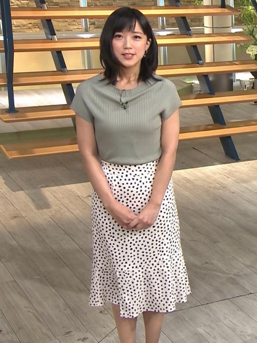竹内由恵アナ ニット微乳、でもエロいキャプ・エロ画像7