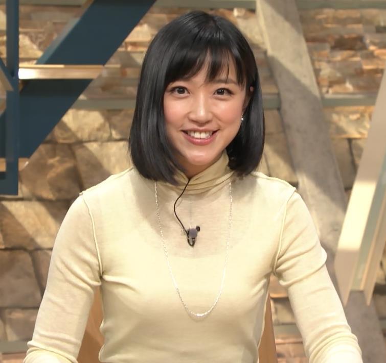 アナ ピチピチの衣装でキャミソールが透けてるキャプ・エロ画像3
