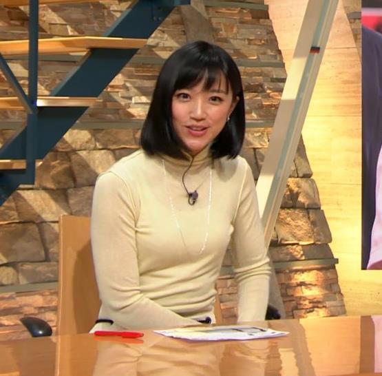 アナ ピチピチの衣装でキャミソールが透けてるキャプ・エロ画像6