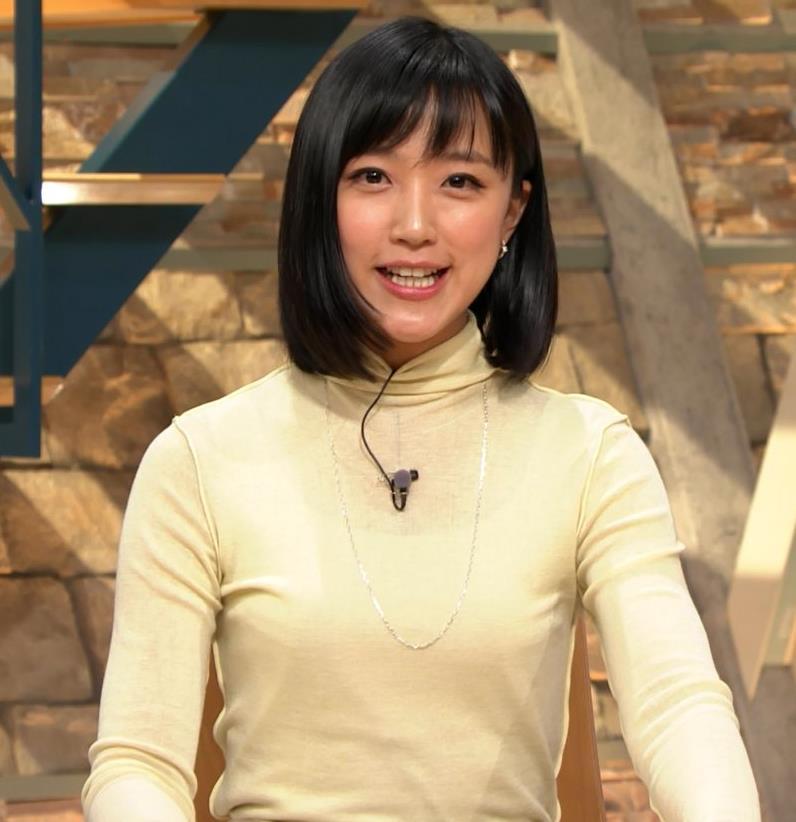 アナ ピチピチの衣装でキャミソールが透けてるキャプ・エロ画像8
