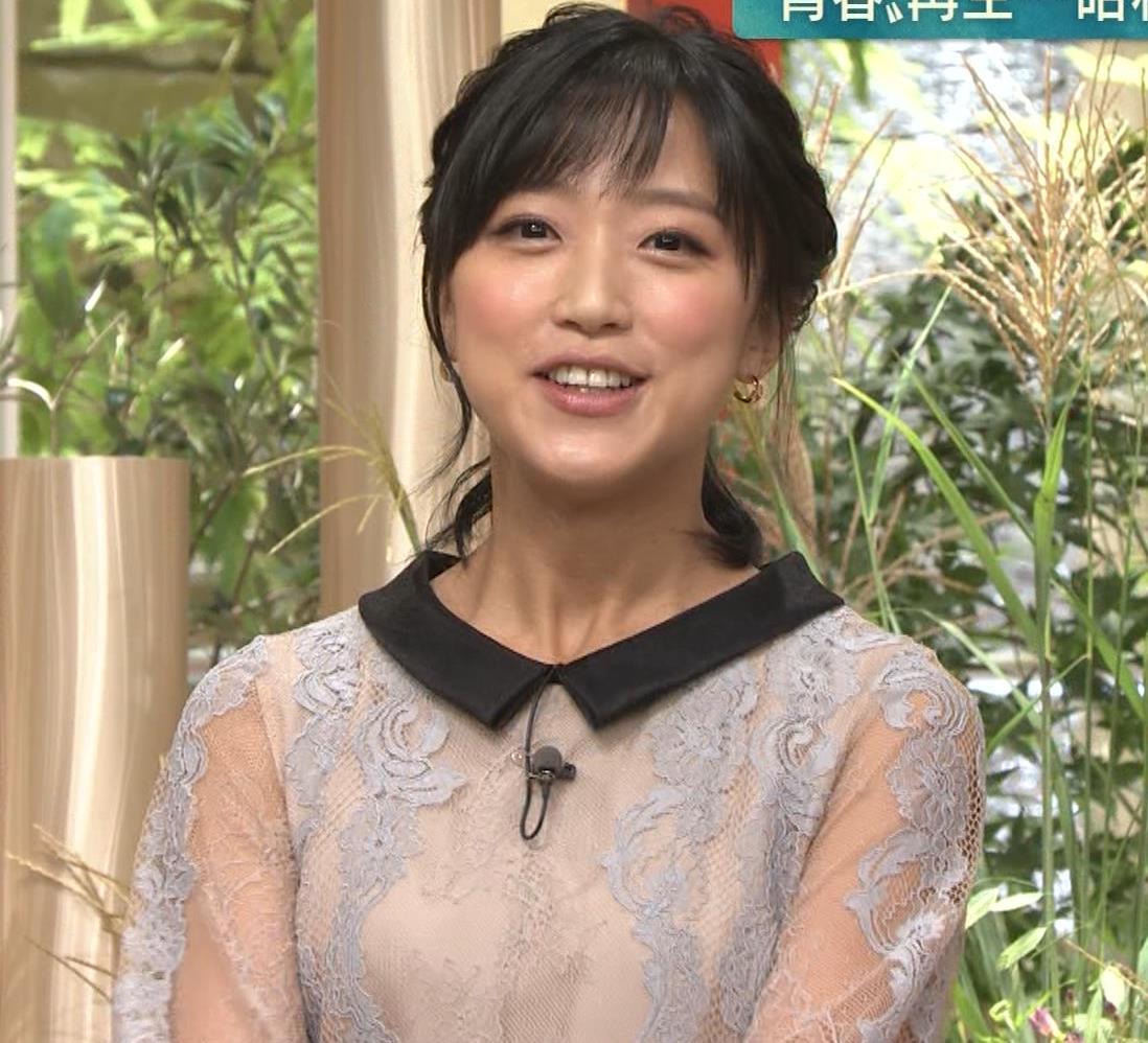 竹内由恵アナ 透け透け衣装キャプ・エロ画像4