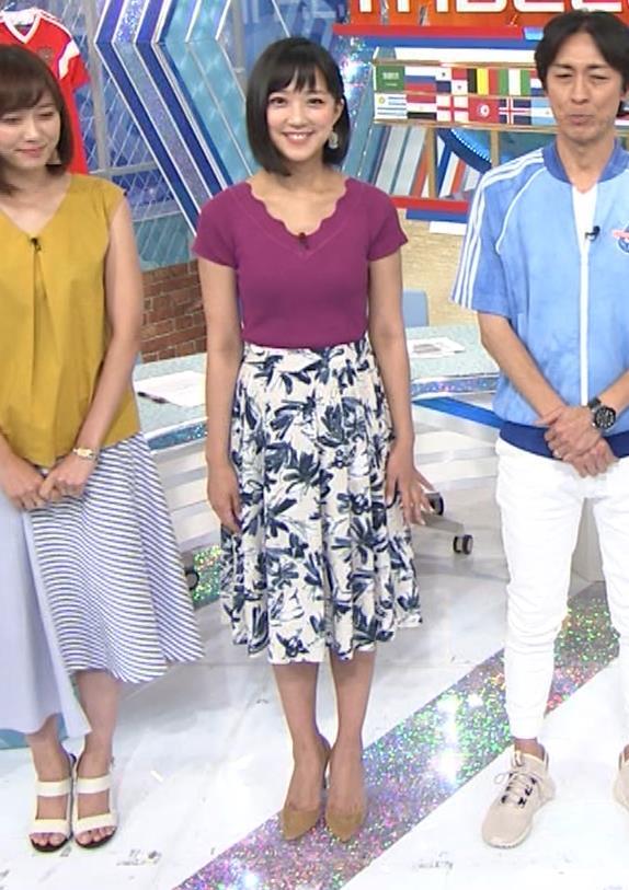 竹内由恵アナ このニット乳はエロいねキャプ・エロ画像11