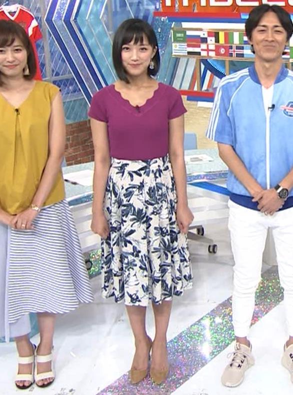 竹内由恵アナ このニット乳はエロいねキャプ・エロ画像9