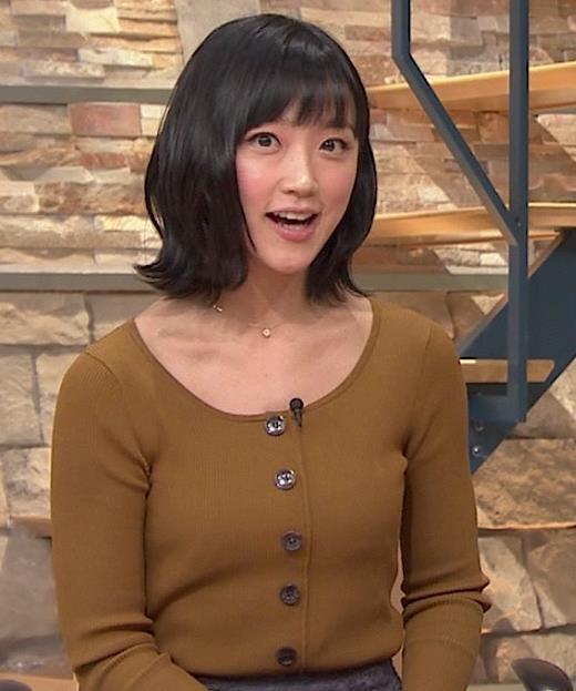竹内由恵アナ 胸元がエロいキャプ・エロ画像6