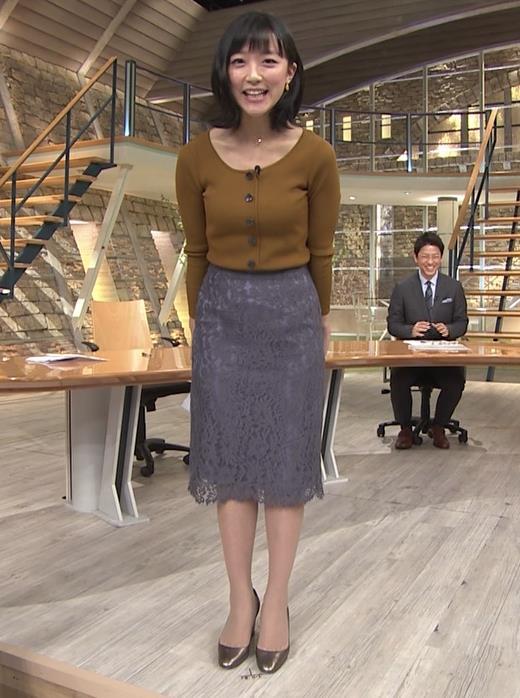 竹内由恵アナ 胸元がエロいキャプ・エロ画像8