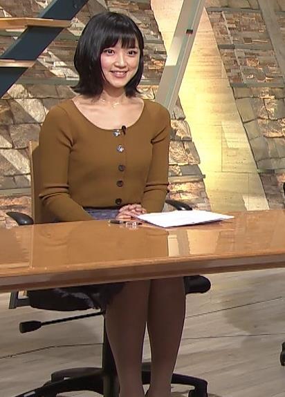 竹内由恵アナ 胸元がエロいキャプ・エロ画像9