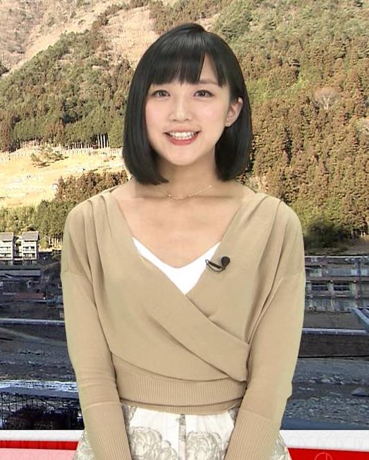 竹内由恵アナ 胸元露出しすぎてるキャプ・エロ画像8