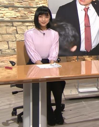竹内由恵アナ パツパツに張ったおっぱいキャプ・エロ画像