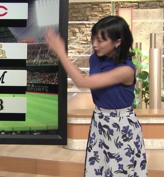 竹内由恵アナ 最近さらに色黒になってない?キャプ・エロ画像7