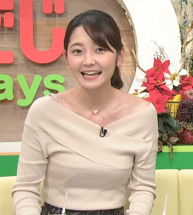 竹崎由佳アナ ブラ紐チラ!!キャプ・エロ画像7