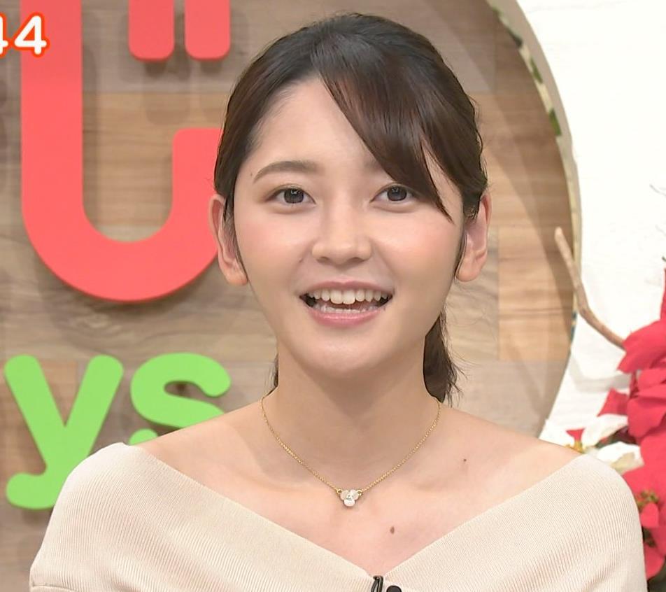 竹崎由佳アナ ブラ紐チラ!!キャプ・エロ画像8