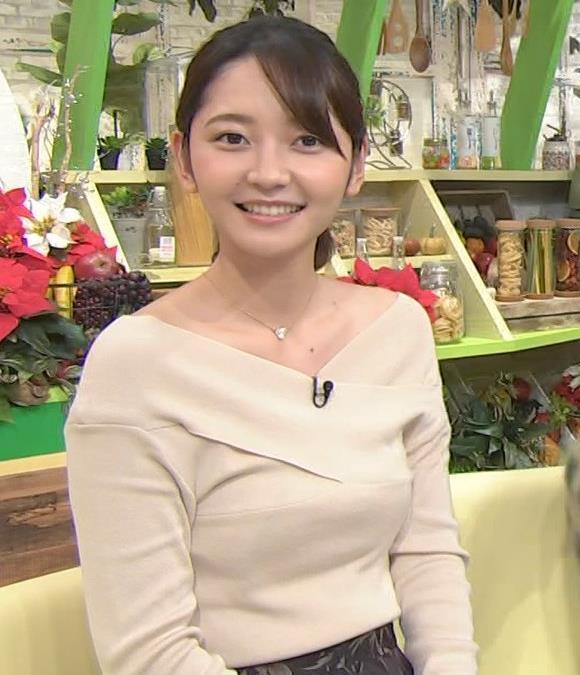 竹崎由佳アナ ブラ紐チラ!!キャプ・エロ画像9
