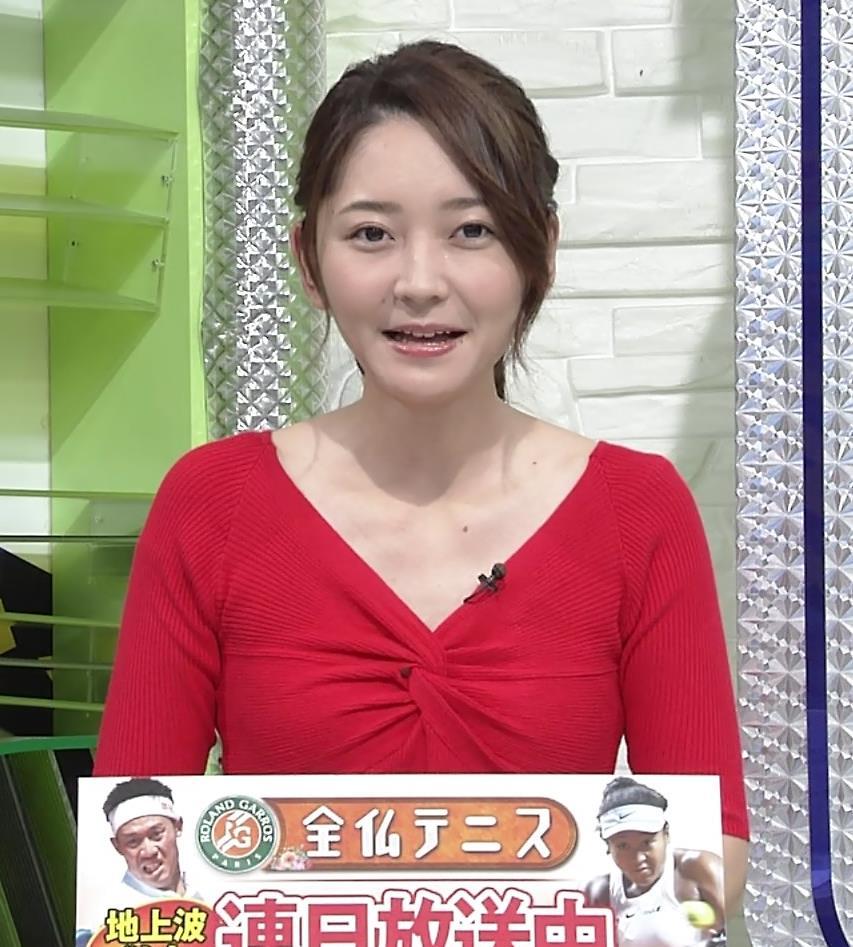 竹崎由佳アナ おっぱいがエロい衣装キャプ・エロ画像