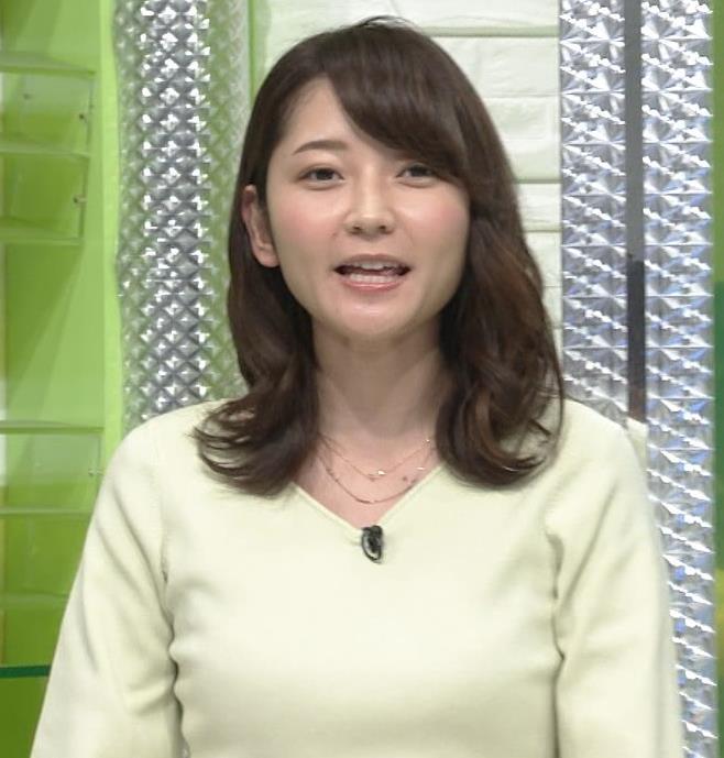 竹崎由佳アナ ニット乳♡キャプ・エロ画像3