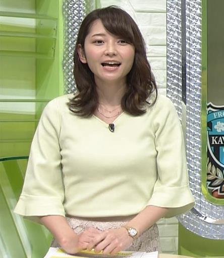 竹崎由佳アナ ニット乳♡キャプ・エロ画像4