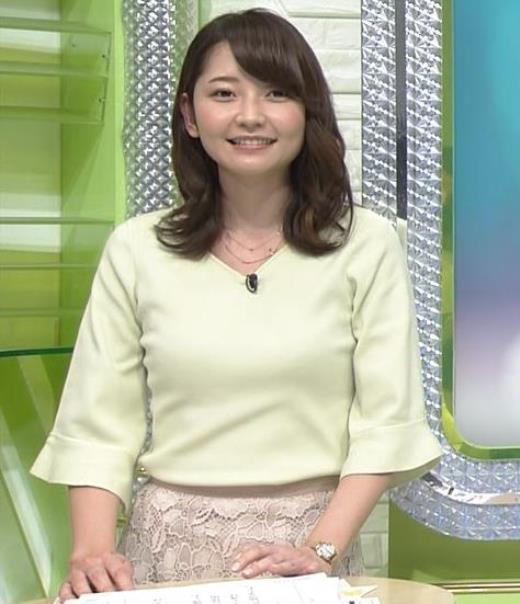 竹崎由佳 ニット乳♡キャプ画像(エロ・アイコラ画像)