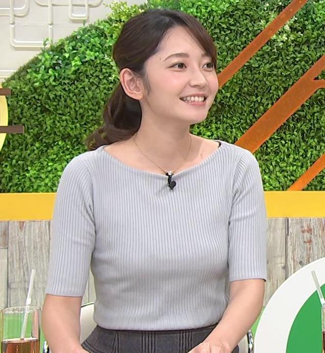 竹崎由佳アナ にっとおっぱい、ブラ紐チラキャプ・エロ画像4