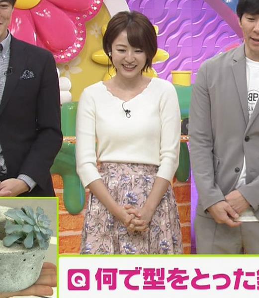 滝菜月アナ ニット乳キャプ・エロ画像3