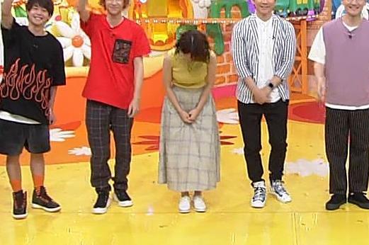 滝菜月アナ ピチピチ衣装でおっぱいアピールキャプ・エロ画像8