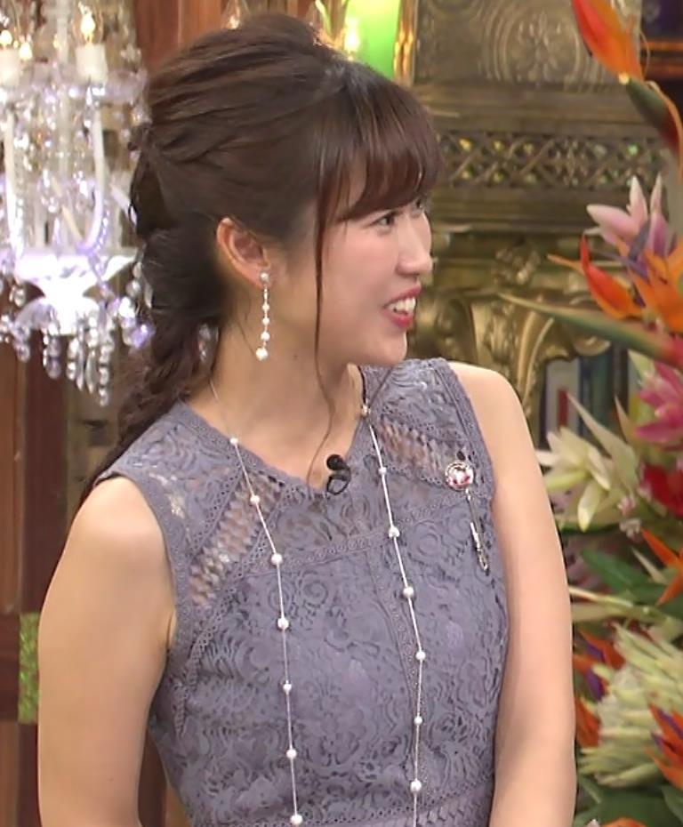 玉巻映美アナ ノースリーブキャプ・エロ画像4