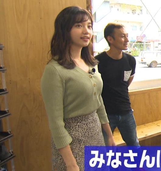 田中瞳アナ デカそうなニットおっぱいキャプ・エロ画像2