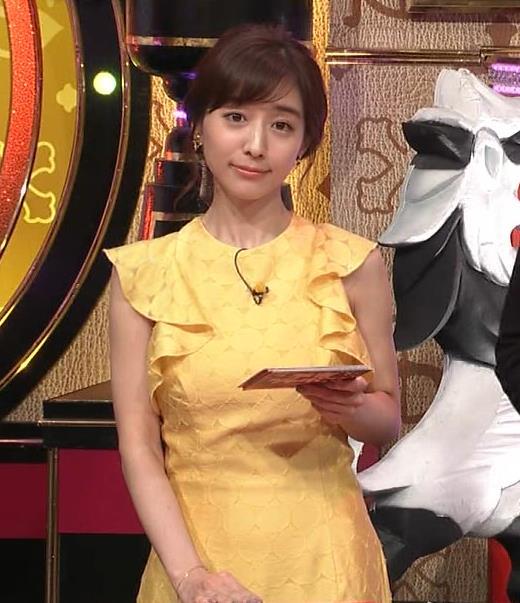 田中みな実 お胸がパツパツのワンピースキャプ・エロ画像