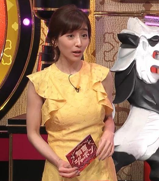 田中みな実 お胸がパツパツのワンピースキャプ・エロ画像2