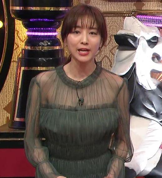 田中みな実 透け方がエロ過ぎる衣装キャプ・エロ画像2