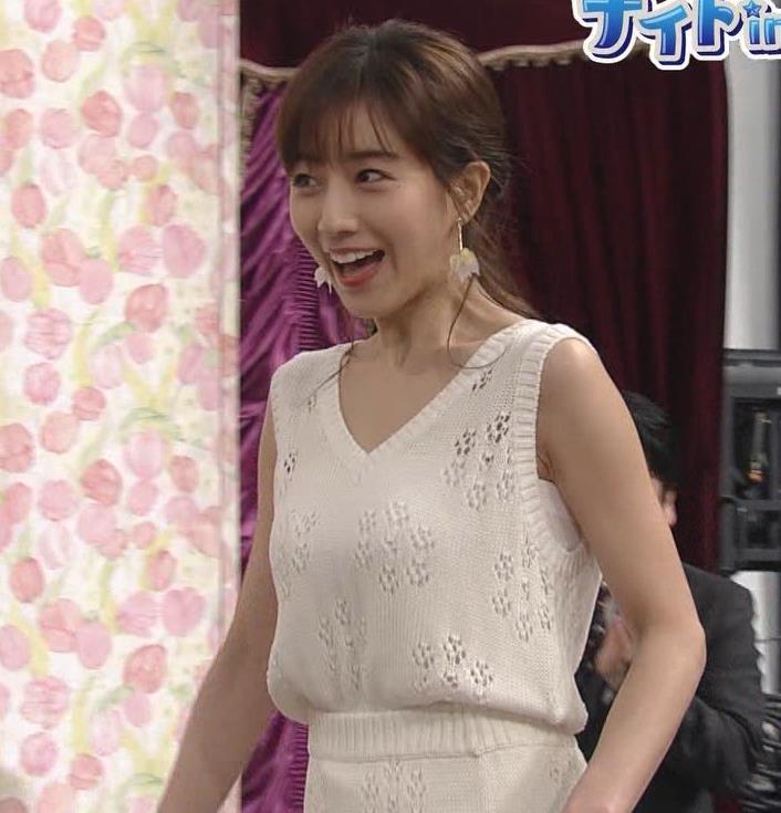 田中みな実アナ セクシーなワンピースで「探偵!ナイトスクープ」に出演キャプ・エロ画像2