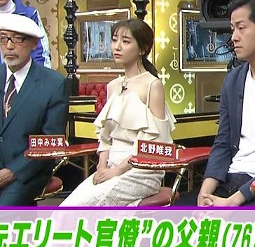 田中みな実 この透け衣装はエロいキャプ・エロ画像