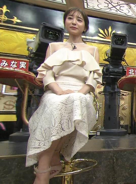 田中みな実 この透け衣装はエロいキャプ・エロ画像10