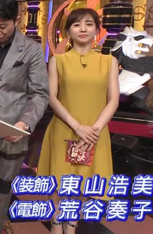 田中みな実 腕で挟んでいるおっぱいがエロいキャプ・エロ画像10