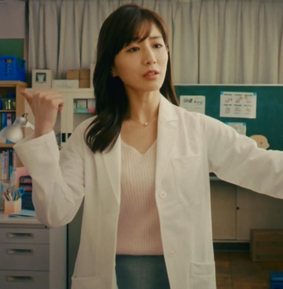 田中みな実 雰囲気エロな保健室先生役キャプ・エロ画像11