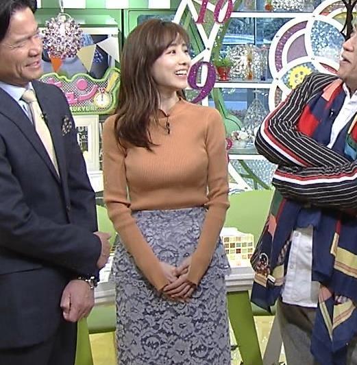 田中みな実 着衣なのにエロ過ぎなニットキャプ・エロ画像