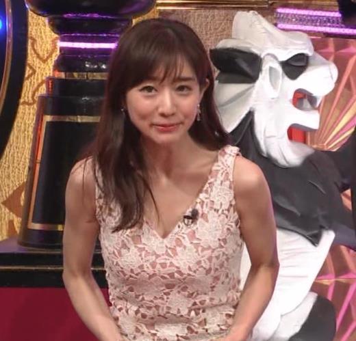 田中みな実 胸元がエロいワンピースキャプ画像(エロ・アイコラ画像)