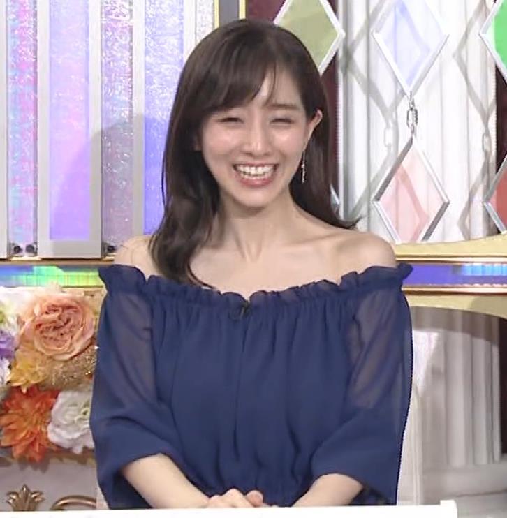 田中みな実 両肩出した透け衣装キャプ・エロ画像7
