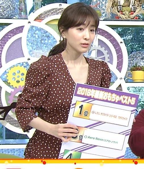 田中みな実 胸元開いた衣装でお辞儀キャプ・エロ画像8