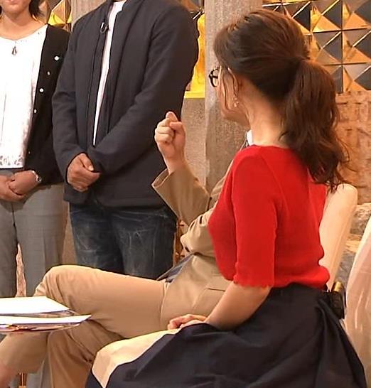 田中みな実アナ ニット横乳♡キャプ・エロ画像4