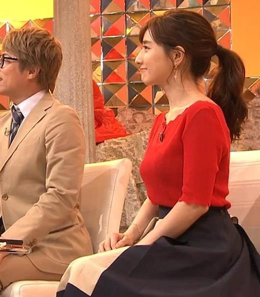 田中みな実 ニット横乳♡キャプ画像(エロ・アイコラ画像)