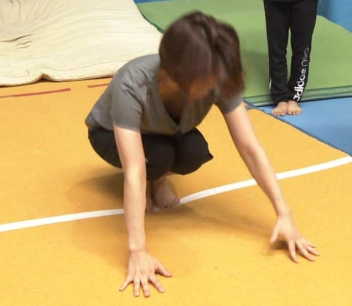 田中理恵 巨乳の谷間チラとかM字開脚とかエロ過ぎ!キャプ・エロ画像2