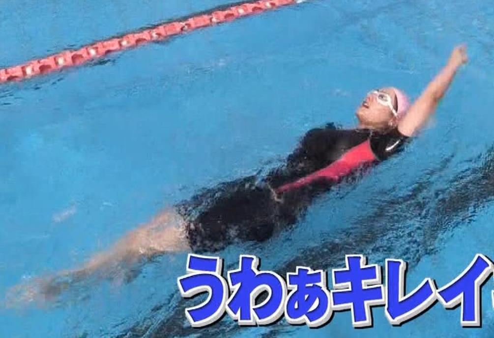 谷まりあ エロいムチムチ水着姿キャプ・エロ画像7