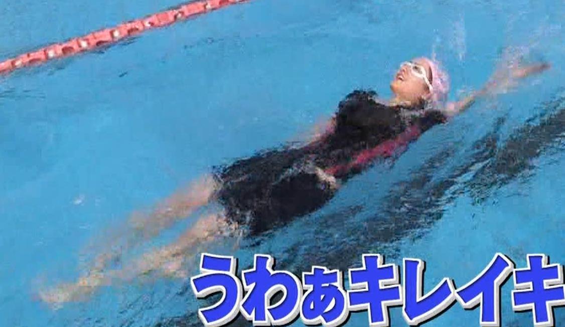 谷まりあ エロいムチムチ水着姿キャプ・エロ画像8