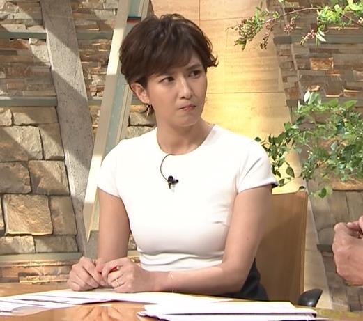 徳永有美アナ またピチピチでおっぱいが際立つキャプ・エロ画像2